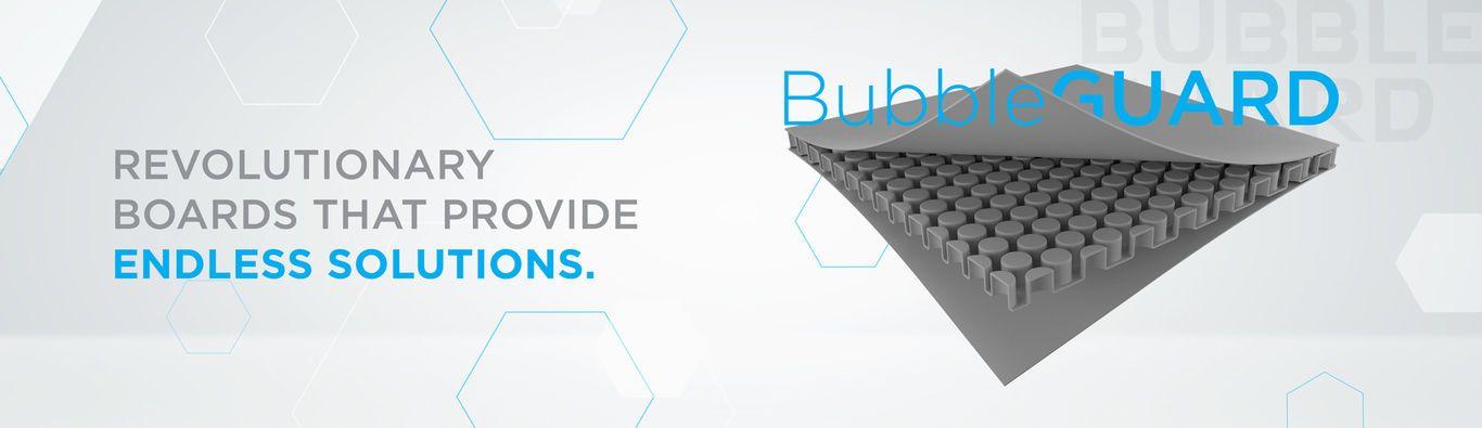 Patented European technology | Nilkamal Bubble Guard