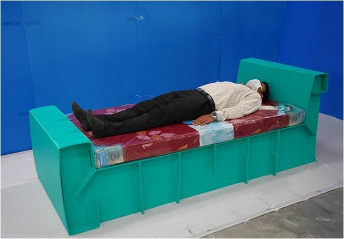 Quick Covid Bed | Nilkamal Bubble Guard